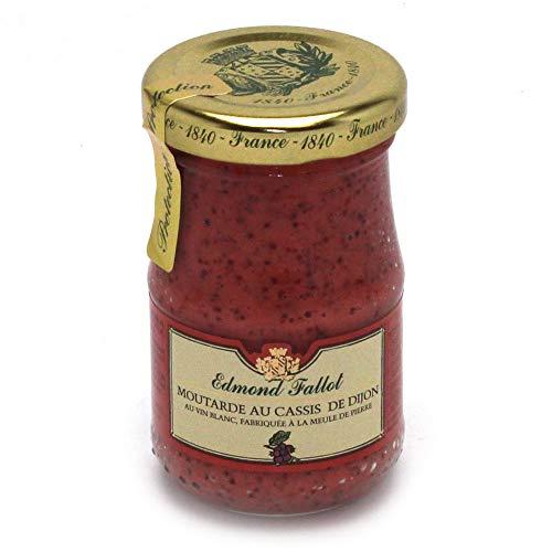 Fallot - Dijon-Senf mit schwarzen Johannisbeeren - 205g -