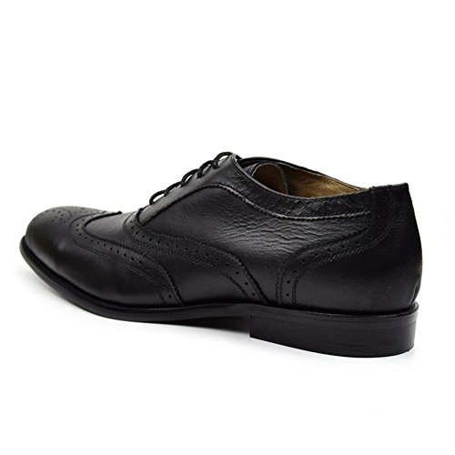 Cuir Business Bullock Respirant Homme Convient ?l'Oxford de Wingtip Pack Black