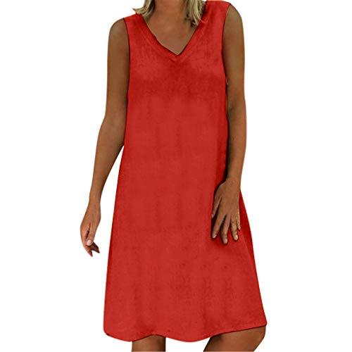 gurbetontes Partykleid Frauen Sommer Stil Feminino Vestido T-Shirt Baumwolle Lässig Plus Size Damen Kleid ()