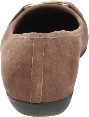 Trotters Women's Sizzle Signature Ballet Flat,Taupe,10 W US Taupe
