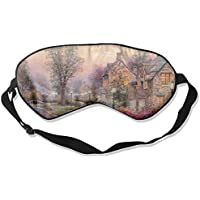 Sleep Eye Mask Houses Bridge River Lightweight Soft Blindfold Adjustable Head Strap Eyeshade Travel Eyepatch E17 preisvergleich bei billige-tabletten.eu