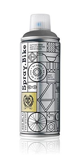 Preisvergleich Produktbild Spray.Bike LackSprayfür individuelle Veredelung vonFahrräder - London Kollektion- 400 ml, 1 Stück, Gray'S Inn, 048123
