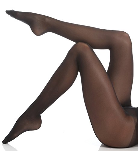 Medium Support-strumpfhosen (Wolford Damen Strumpfhose Synergy Leg Support Tights, 40 Den, Schwarz (Black 7005), Medium)