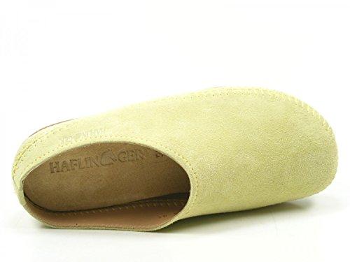 Haflinger 488023-0 Everest Softino Damen Hausschuhe Pantoffeln Pink Lila Grün Grün