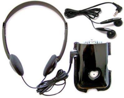 Sonic SuperEar Plus SE7500 amplificador de sonido personal con el caso, Auriculares y Discreet auriculares