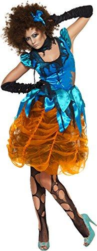 Smiffys, Damen Killerella Kostüm, Kleid und Halsband, Größe: M, (Kostüm Ideen Halloween Cinderella)