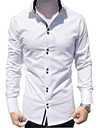 Amazon.in: White - Casual Shirts / Shirts: Clothing & Accessories