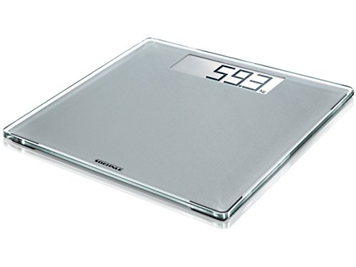 Soehnle 63855 Digitale Personenwaage Style Sense Comfort 400, silver