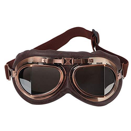Fahrradbrille Motorradbrille Taktisch Schutzbrille Augenschutz Anti-Wind Anti-Sand Sicherheit Brille Sport-Sonnenbrille Gläser für Männer Frauen Laufen Radfahren Angeln Golf Baseball(Silber)
