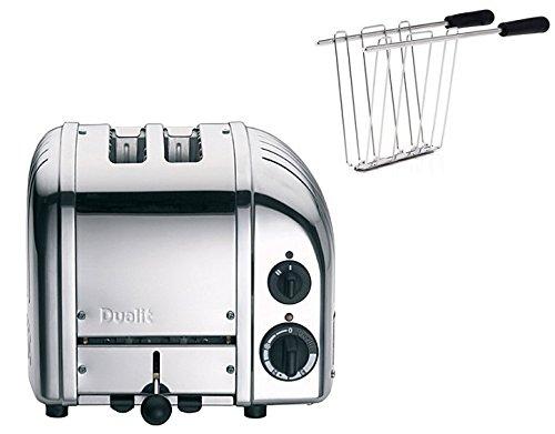 Dualit Toaster NewGen II polished inkl. Sandwichzange