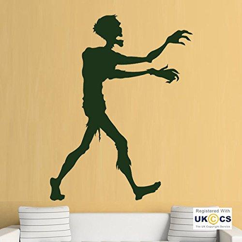 Zombie kühlen Jungen Schlafzimmer Walking Dead Spiele-Wand-Kunst-Aufkleber-Abziehbilder Vinyl Startseite Schlafzimmer Jungen Kinder Erwachsene Heim Zitate Küche Badezimmer Wandaufkleber (Dead 99 Walking)
