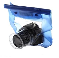 Set of DSLR Bag Pouch Cover Case Camera Waterproof Underwater Pouch Dry Bag and Lens cleaning pen