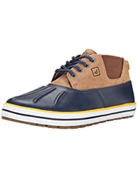 Sperry Cloud S/O Knit Zapatos del barco para hombre, Black, 42.5
