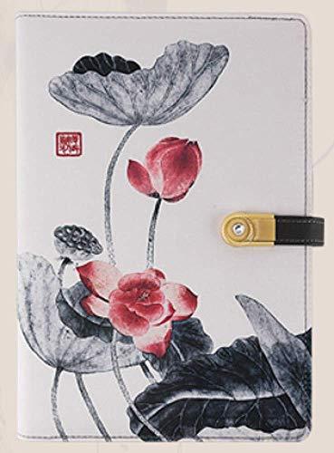 A5 Notizblock/Silk Notizblock/Mobile Power Notebook/Mehrzweckjournal/Notizkartenposition/Ersatzblatt/Feinbearbeitung,D (Fester Einband Draht-notebook)