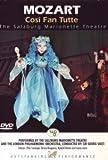 Mozart - Cosi Fan Tutte (the Salzburg Marionette Theatre) [Import allemand]