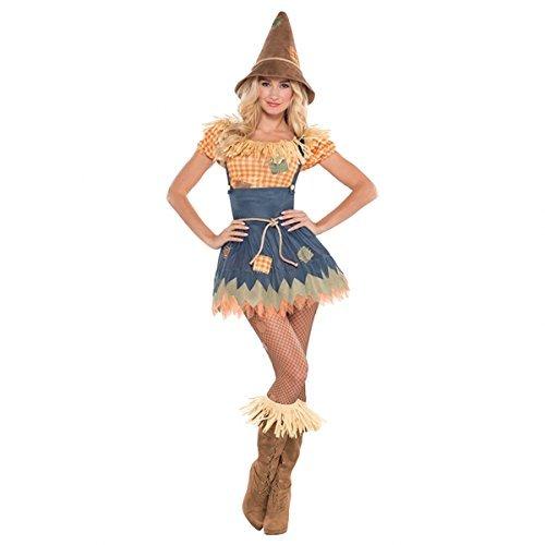 Von Oz Süße Zauberer Der Kostüm - Zauberer von Oz-Vogelscheuche- Kostüm für Damen - Grösse 40/42