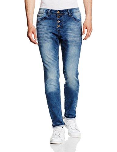 Unbekannt Elay, Jeans Homme Blau (middle blue 19300)