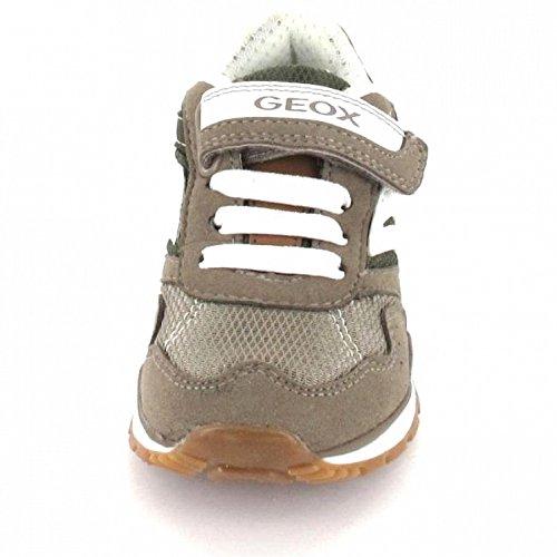 Geox Klettschuh J PAVEL B Größe 26, Farbe: grau/oliv -