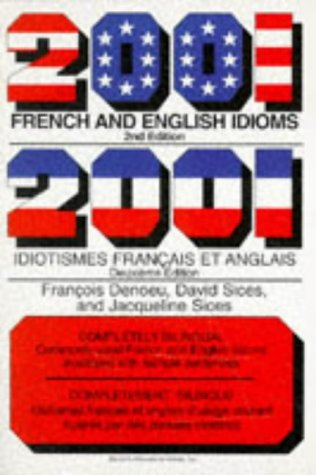 2001 French and English Idioms (Barrons)