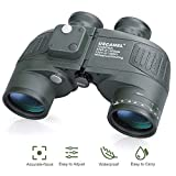 USCAMEL® 10x50 HD Military Binoculars with Rangefinder Compass Telescope Nitrogen Filled Waterproof Sports