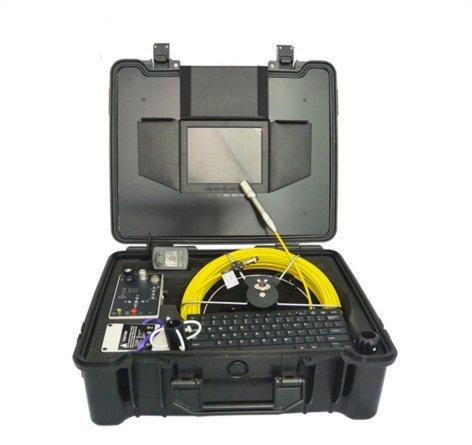 mabelstar Sicherheit Equipment Industrie Endoskop 40m Rohr Video Inspektion Kamera mit DVR und Meter - Sicherheit-video-direct