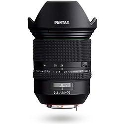 HD PENTAX-D FA 24-70mmF2.8ED SDM WR Zoom standard haut de gamme ultra grand angle 24mm Construction tous-temps Pouvoir de résolution exceptionnel Verre ED Lentille asphérique Lentilles dotées