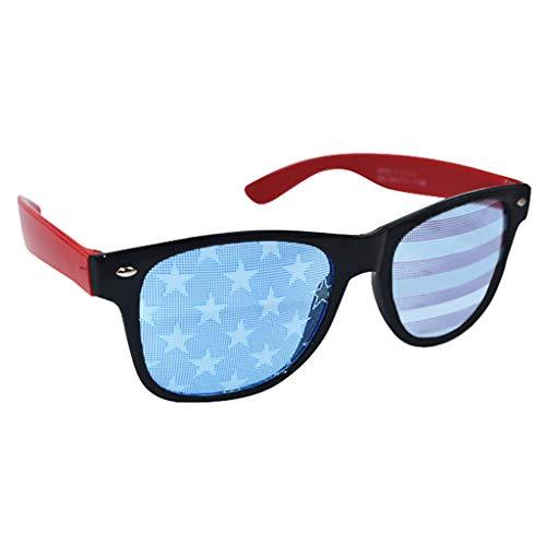 YEZIJIN Lustige Verkleidung Brille Neuheit Kostüm Party Sonnenbrille Zubehör Free Size a