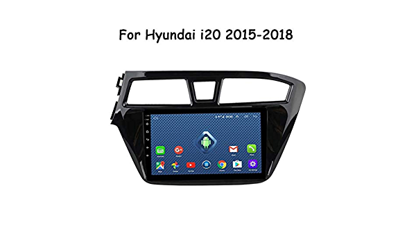 Hp Camp Android 9 0 Full Touch Screen 9 Zoll Auto Gps Radio Navigation Für Hyundai I20 2015 2017 2 5d Touchscreen Lenkradkontrolle Multifunktion Wifi 2g 32g Sport Freizeit