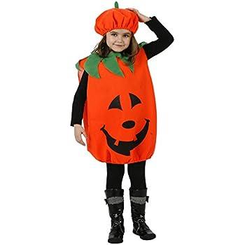 Costume Set zucca di Halloween con il cappello  Amazon.it  Giochi e ... 3af1f8f48a02