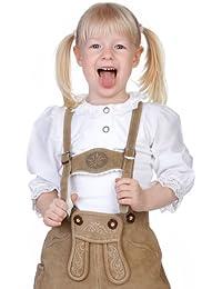 M.Stützle Trachten Kinder Blusenshirt - KLÖPPELSPITZE