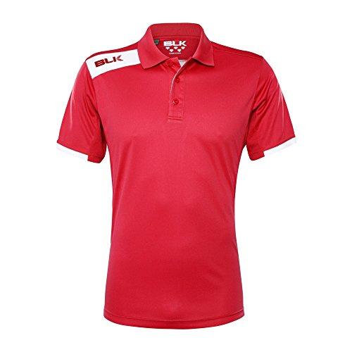 Blk Tek VI Polo Shirt Rot Herren, rot -