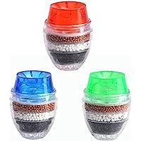 Wasserhahn Filter Haushalt Hauses Coconut Carbon-Cartridge-Hahn-Hahn Wasser reinigen Purifier Filter, Zufällige Farbe