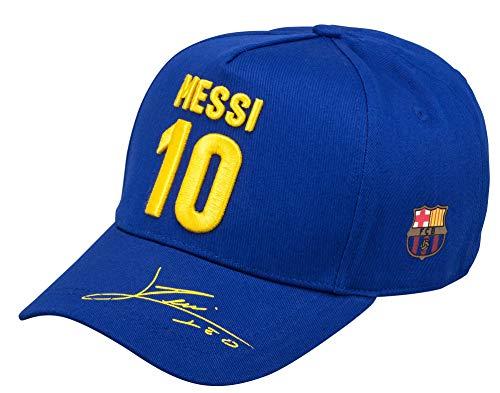 Fc Barcelone Barca-Lionel Messi-Gorra Oficial