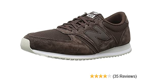 hot sale online a8949 08427 New Balance Unisex Adults  420 70s Running Suede Low-Top Sneakers