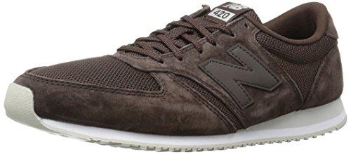 New Balance Männer 70er Jahre laufen U420V1 Classics Schuhe, 40.5 EUR - Width D, Brown