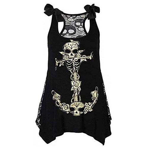 Highdas Sexy Punk Girl Women Slim Dress Skull Print Dress yellow