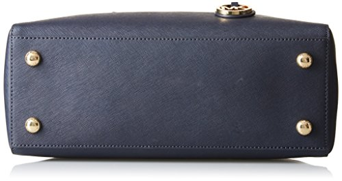 Michael Kors Jet Set Travel Saffiano Leather Medium, Sac cabas Bleu (Admiral)