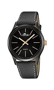 Lotus 18165/2 - Reloj de pulsera hombre, color Gris de Lotus