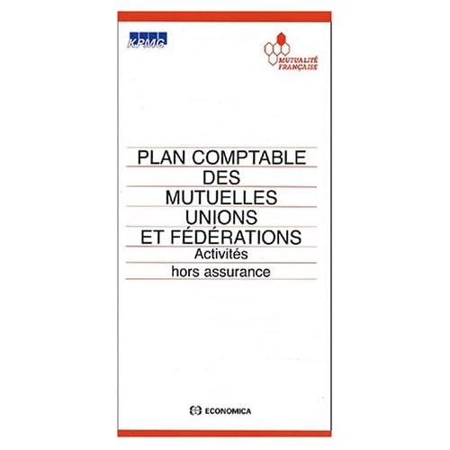 Plan comptable des mutuelles unions et fédérations. Activités hors assurance