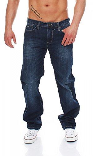 Comfort Fit Herren Jeans (Big Seven Morris True Blue Comfort Fit Herren Jeans, Hosengröße:W42/L32)