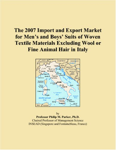 The 2007 Import and Export Market for Men's and Boys' Suits of Woven Textile Materials Excluding Wool or Fine Animal Hair in Italy