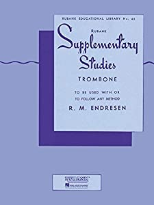 Supplementary Studies: Trombone (Rubank Educational Library)