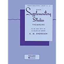 Supplementary Studies: Trombone (Rubank Educational Library, Band 45)