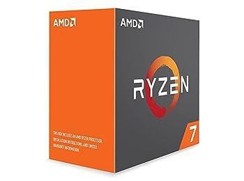 AMD Ryzen 7 1800X 8-Çekirdek 3.6 GHz (4.0 GHz Turbo) Socket AM4 95W İşlemci