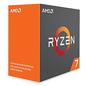AMD Ryzen 7 1800X - Processeur 4,0 Ghz - Socket AM4