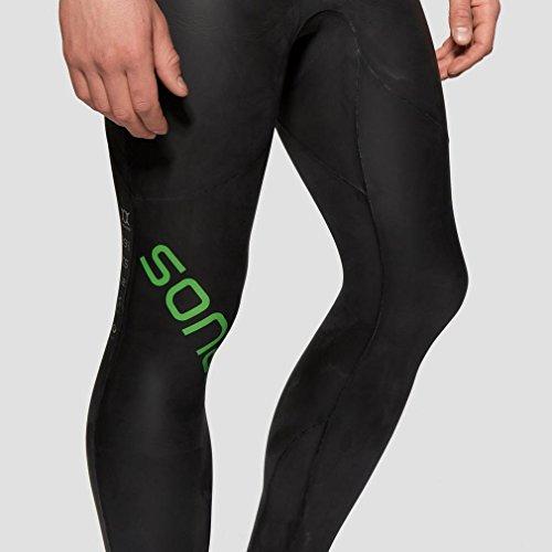 Sonar Wetsuit Neoprenanzug, schwarz/grün - 7