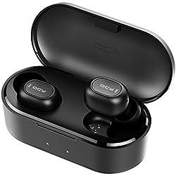 Cuffie Bluetooth, HOMSCAM Auricolari Bluetooth 5.0 Senza Fili Auricolari Wireless Stereo Sportivi in Ear con Custodia da Ricarica 800mAh Microfono Leggeri Hi-Fi Cuffie per iPhone Huawei Xiaomi Samsung