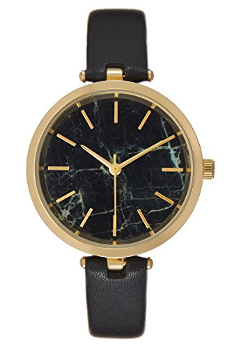 Anna Field Damen Uhr analog Analoges Quarzwerk mit Polyurethan Armband AN651M00I-Q11