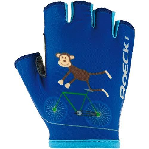 Roeckl Kinder Toro Handschuhe, Monaco blau, 5