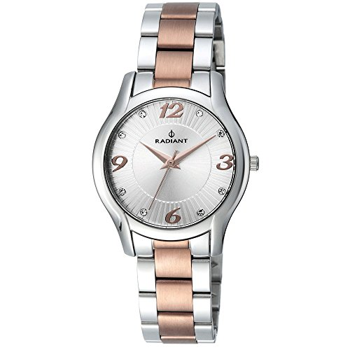 Watch Radiant Mrs. Steel Bicolor IP Copper. Dial Silver.